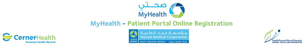 MyHealth Patient Portal Online Registration
